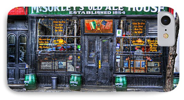 Mcsorley's  In Color IPhone Case by Randy Aveille