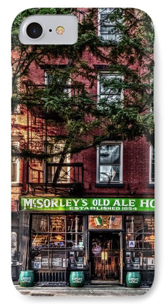 IPhone Case featuring the photograph Mcsorley's Old Ale House Nyc by Susan Candelario