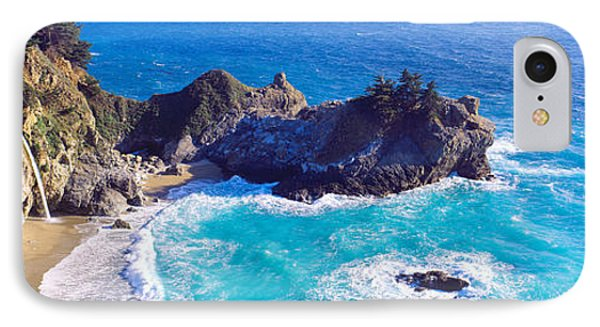 Mcway Falls, Mcway Cove, Julia Pfeiffer IPhone Case by Panoramic Images