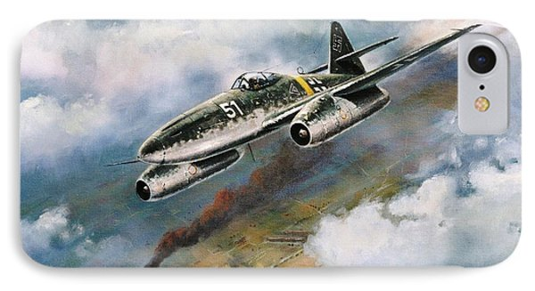 'me - 262' IPhone Case by Colin Parker