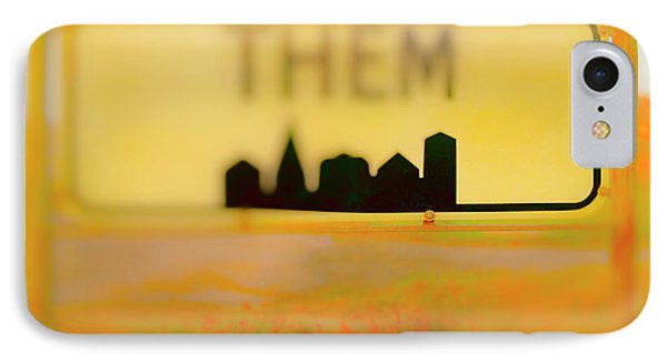 Me And Them IPhone Case by Jan W Faul