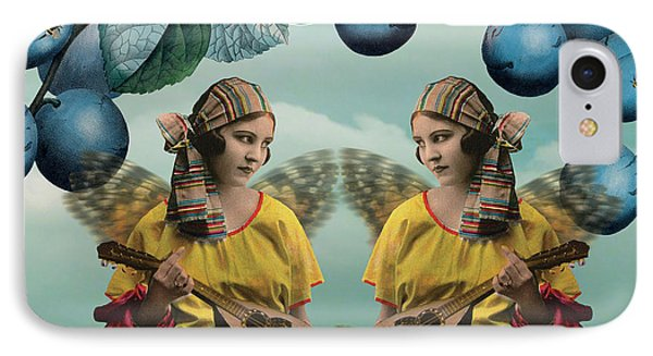 Me And You IPhone Case by Olga Snell