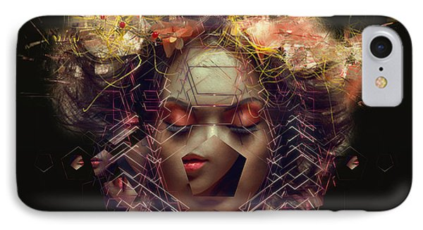Me Inside Of Me IPhone Case by Bojan Jevtic