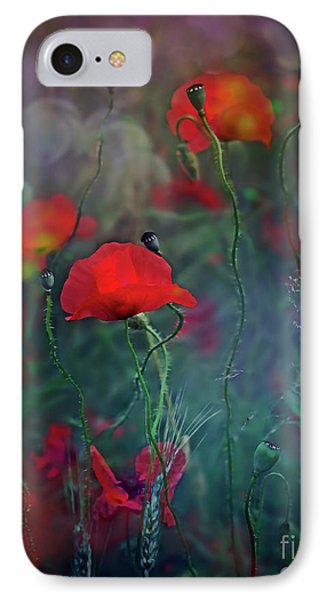 Meadow In Another Dimension IPhone Case by Agnieszka Mlicka