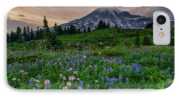 IPhone Case featuring the photograph Meadows Of Heaven by Dan Mihai