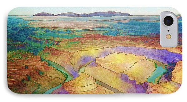 Meander Canyon IPhone Case