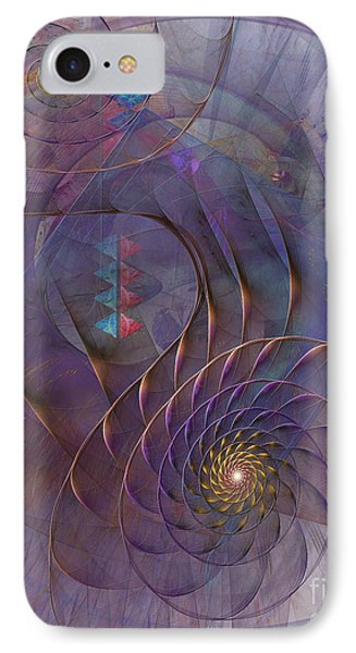 Meandering Acquiescence Phone Case by John Robert Beck