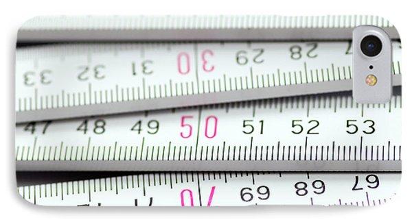 Measure Twice, Cut Once IPhone Case by Michal Boubin