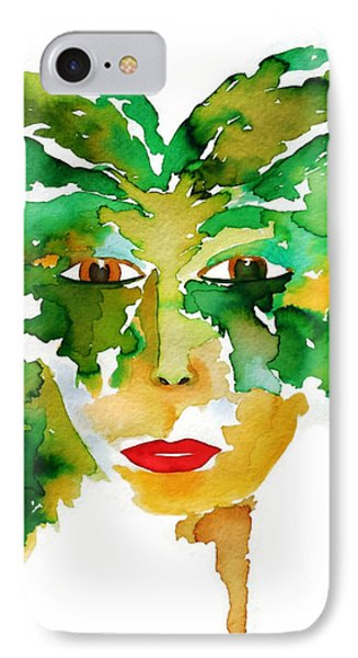 Medeina Goddess Of The Woodland Forest IPhone Case