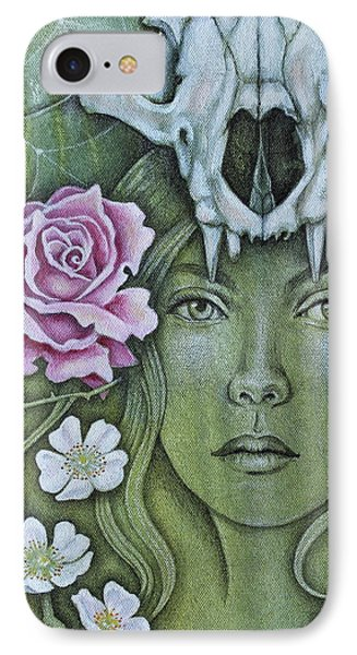 IPhone Case featuring the mixed media Medicinae by Sheri Howe