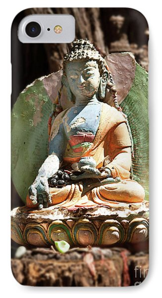 IPhone Case featuring the photograph Medicine Buddha With Offerings by Carol Lynn Coronios