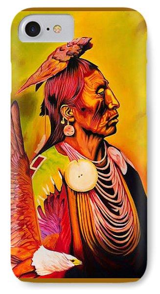 Medicine Crow And Eagle IPhone Case