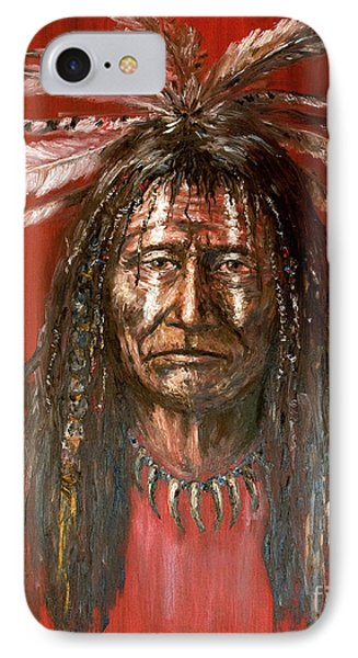 Medicine Man IPhone Case by Arturas Slapsys