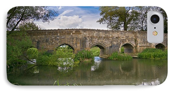 Medieval Bridge IPhone Case by Scott Carruthers