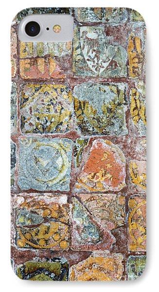 Medieval Floor Tiles Pattern IPhone Case