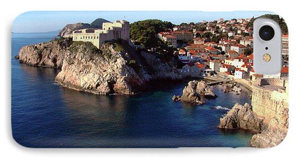 Medieval Fortresses Lovrijenac And Bokar Dubrovnik IPhone Case by Jasna Dragun