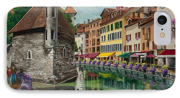 Medieval Jail In Annecy IPhone Case by Charlotte Blanchard