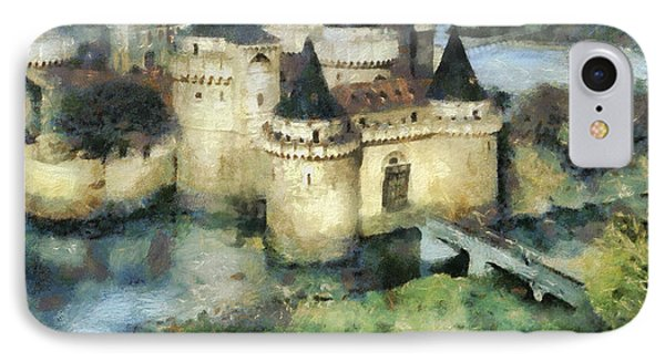 Medieval Knight's Castle IPhone Case by Sergey Lukashin
