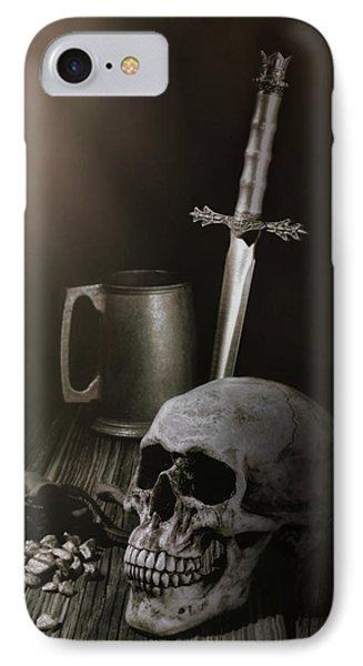 Medieval Still Life IPhone Case by Tom Mc Nemar