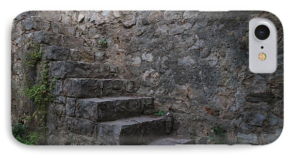 Medieval Wall Staircase IPhone Case by Angelo DeVal