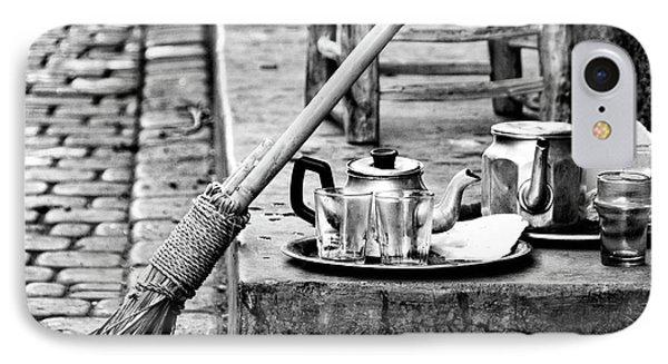 IPhone Case featuring the photograph Medina Tea Break by Marion McCristall