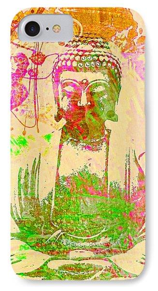 Meditating Buddha  IPhone Case