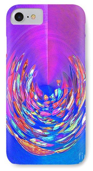 Meditation In Blue IPhone Case by Nareeta Martin