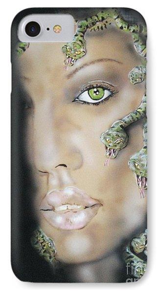 Medusa IPhone Case by John Sodja