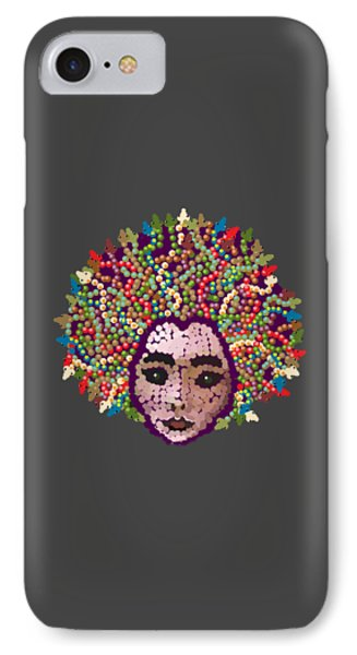 Medusa With Transparent Background IPhone Case by R  Allen Swezey