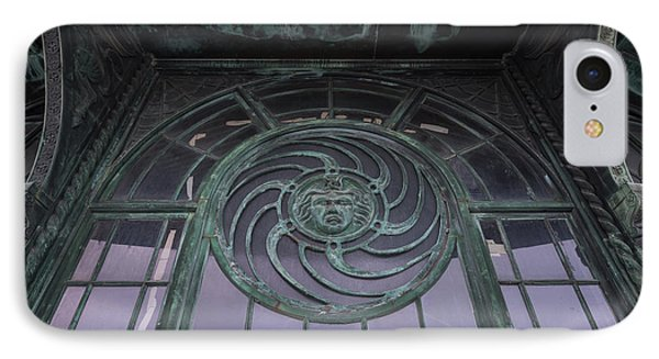 Medusa Window Carousel House Asbury Park Nj IPhone Case by Terry DeLuco