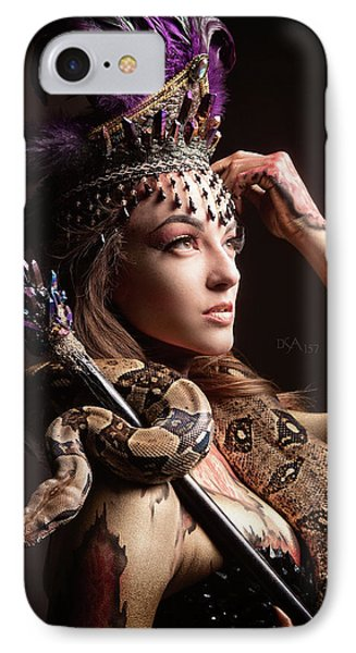 Medusa's Brood I IPhone Case by David April