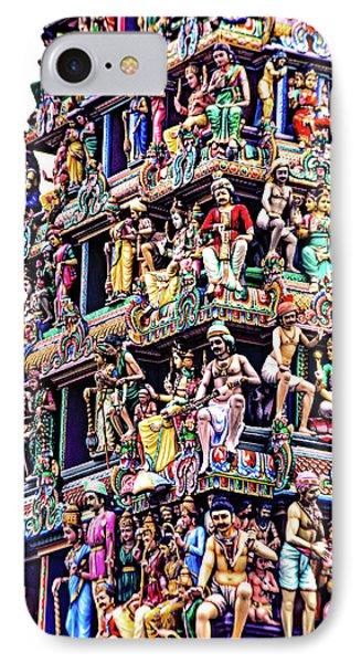 Meenakshi Amman Temple IPhone Case