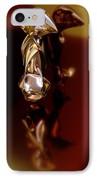 Meerkat Trophy IPhone Case by Chas Hauxby