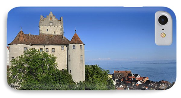 Meersburg Castle - Lake Constance Or Bodensee - Germany Phone Case by Matthias Hauser