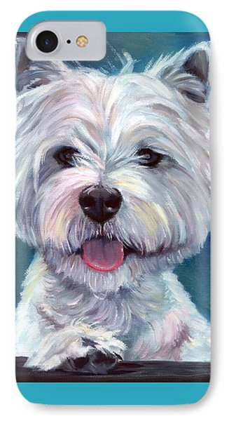 Meet And Greet - West Highland Terrier IPhone Case