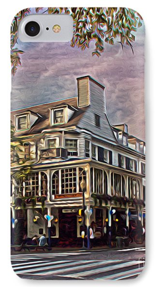 Penn State University iPhone 7 Case - Meet Me At The Corner by Tom Gari Gallery-Three-Photography