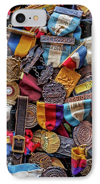 IPhone Case featuring the photograph Meet Medals by Christopher Holmes