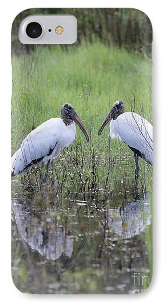 Meeting Of The Minds IPhone Case by Carol Groenen