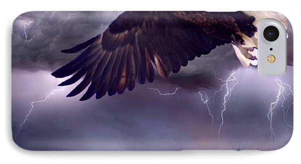 Meeting The Storm Phone Case by Bill Stephens