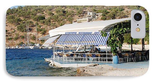 Meganissi Beach Taverna IPhone Case