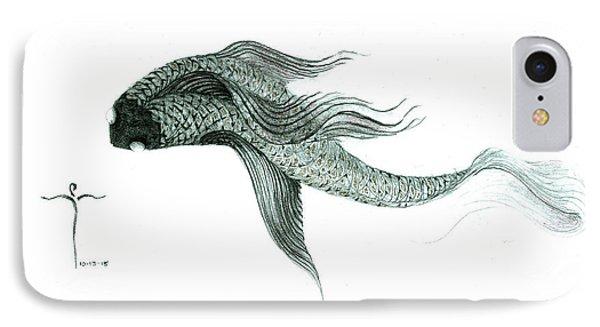 Megic Fish 1 IPhone 7 Case by James Lanigan Thompson MFA