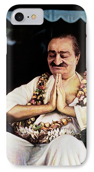 Meher Baba 2 Phone Case by Nad Wolinska