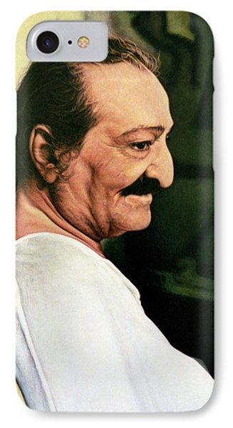 Meher Baba 3 IPhone Case by Nad Wolinska