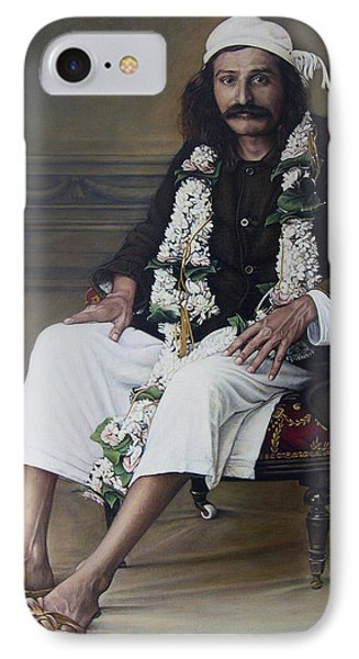 Meher Baba Phone Case by Nad Wolinska