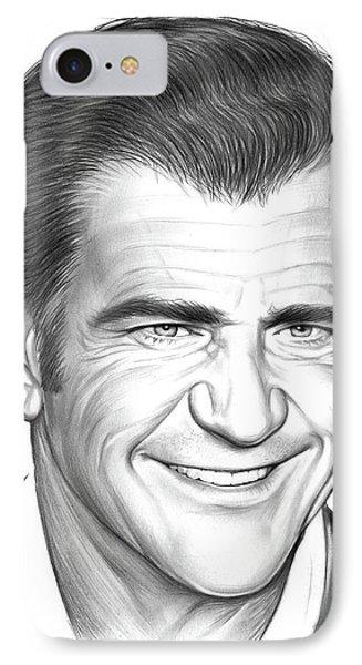 Mel Gibson IPhone Case by Greg Joens