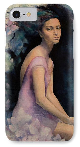 Melancholy Butterflies IPhone Case by Dorina Costras