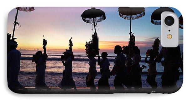 Melasti Festival Ceremony Bali IPhone Case by Timea Mazug