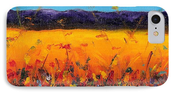 Melissa's Meadow Phone Case by Frances Marino