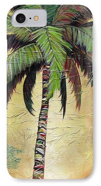 Mellow Palm I IPhone Case by Kristen Abrahamson
