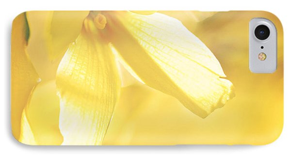 Mellow Yellow IPhone Case by Kharisma Sommers